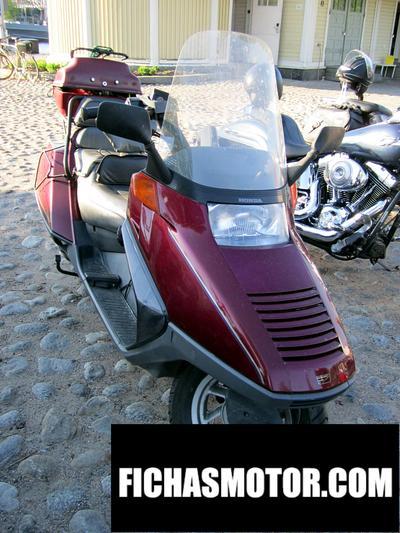 Ficha técnica Honda cn 250 1998