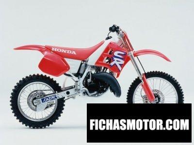 Ficha técnica Honda cr 125 1992