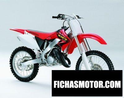 Ficha técnica Honda cr 125 r 2003