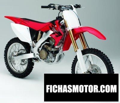 Ficha técnica Honda cr 125 r 2006