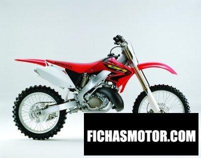 Imagen moto Honda cr 250 r año 2003