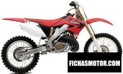 Imagen moto Honda cr 250 r año 2005