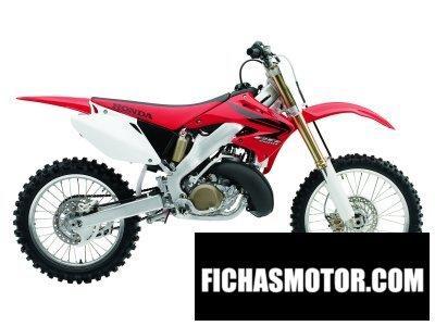 Imagen moto Honda cr 250 r año 2007