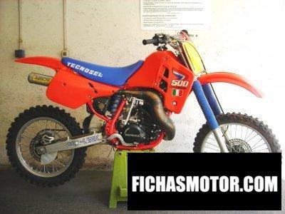Imagen moto Honda cr 500 año 1987