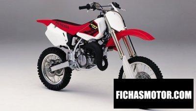 Ficha técnica Honda cr 80 r 2002