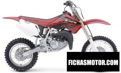 Imagen moto Honda cr 85 r año 2004
