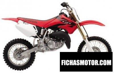 Imagen moto Honda cr 85 r año 2005