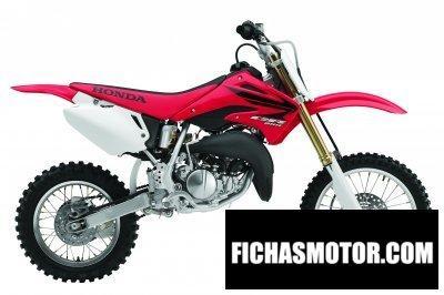 Imagen moto Honda cr 85 r año 2007