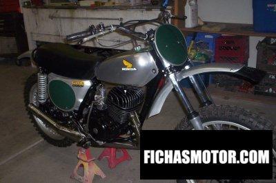 Imagen moto Honda cr250m año 1974