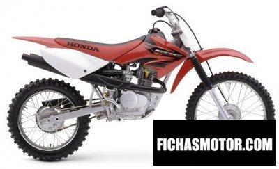Imagen moto Honda crf 100 f año 2004