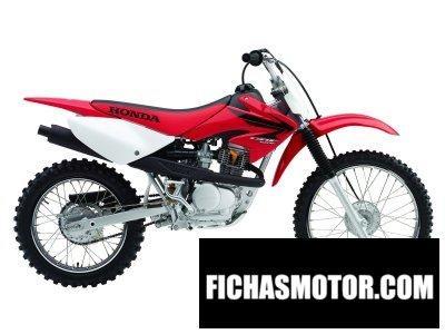 Imagen moto Honda crf 100 f año 2007