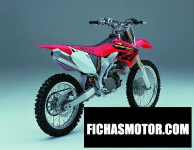 Ficha técnica Honda crf 450 r 2002