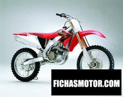 Ficha técnica Honda crf 450 r 2003