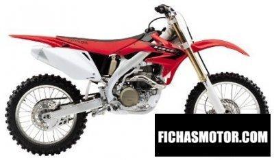 Ficha técnica Honda crf 450 r 2005