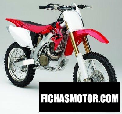 Imagen moto Honda crf 450 r año 2006