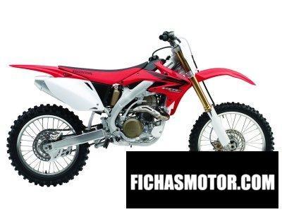 Imagen moto Honda crf 450 r año 2007