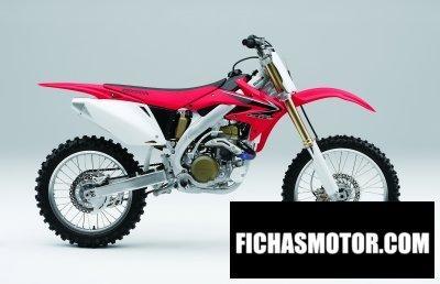 Imagen moto Honda crf 450 r año 2008