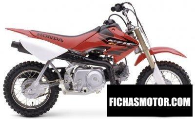 Ficha técnica Honda crf 50 f 2004