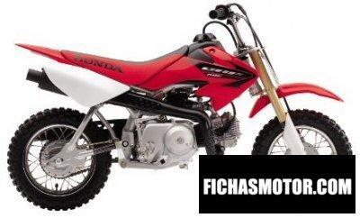 Ficha técnica Honda crf 50 f 2005