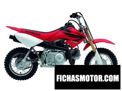 Imagen moto Honda crf 50 f año 2007