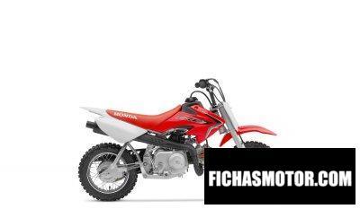Ficha técnica Honda CRF 50 F 2020