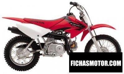 Imagen moto Honda crf 70 f año 2005