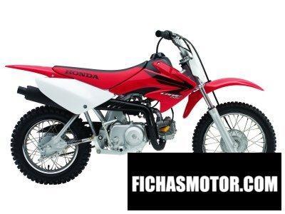 Imagen moto Honda crf 70 f año 2007