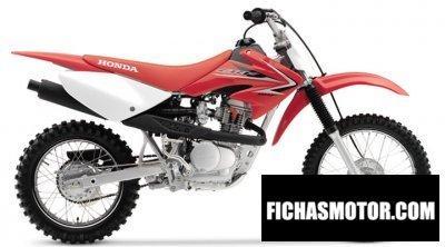 Imagen moto Honda crf 80 f año 2008