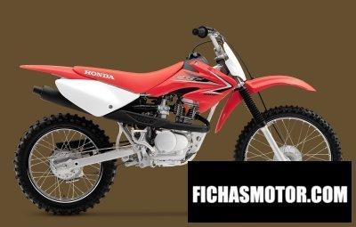 Ficha técnica Honda crf100f 2010