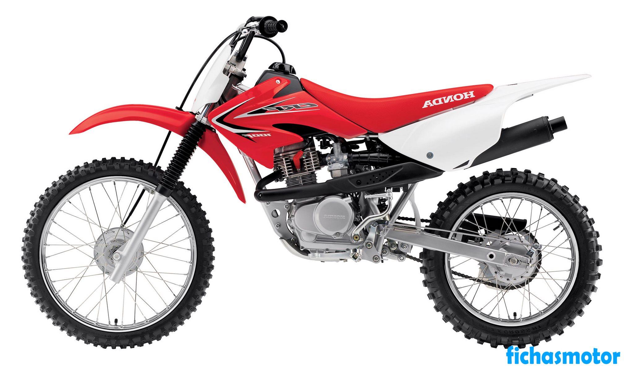 Ficha técnica Honda crf100f 2015