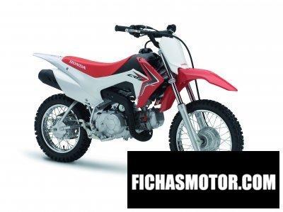 Ficha técnica Honda crf110f 2014