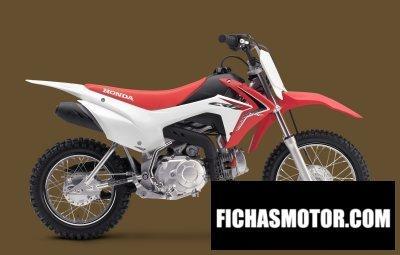 Imagen moto Honda crf110f año 2015