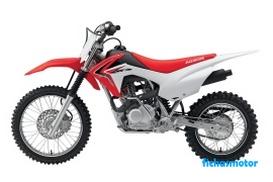 Imagen moto Honda crf125f año 2014