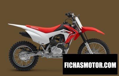 Ficha técnica Honda crf125f 2015
