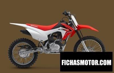 Ficha técnica Honda crf125f big wheel 2018