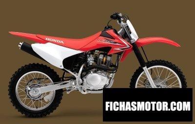 Ficha técnica Honda crf150f 2011