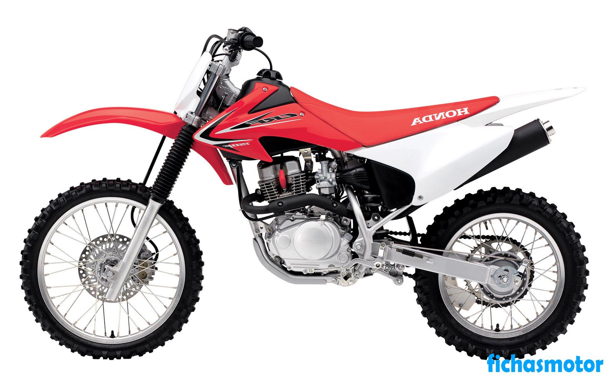 Ficha técnica Honda crf150f 2013