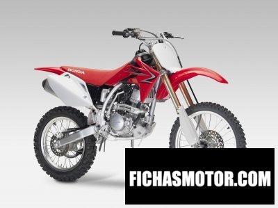 Ficha técnica Honda crf150r 2011