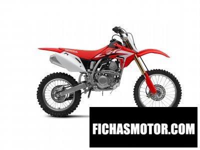 Ficha técnica Honda crf150r 2018