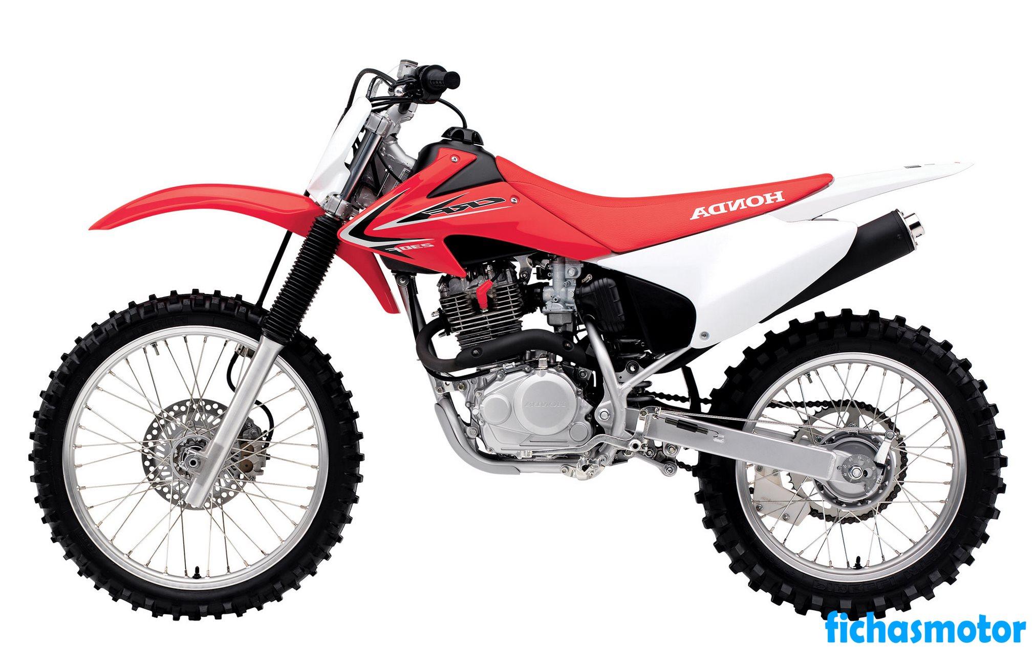 Ficha técnica Honda crf230f 2016