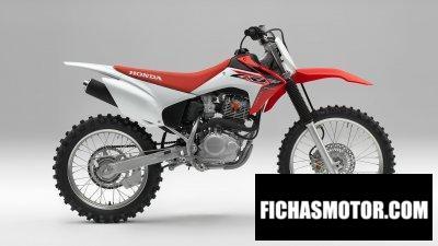 Ficha técnica Honda CRF230F 2019