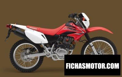 Ficha técnica Honda crf230l 2011