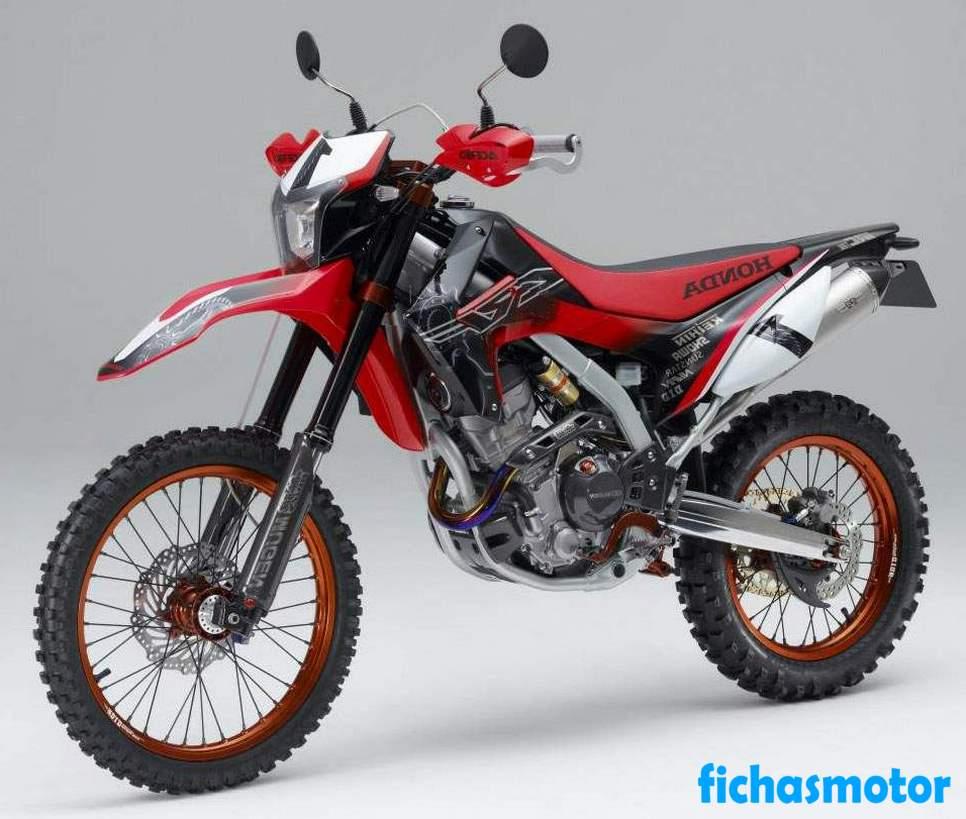 Ficha técnica Honda crf250l 2014