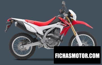 Ficha técnica Honda crf250l 2016