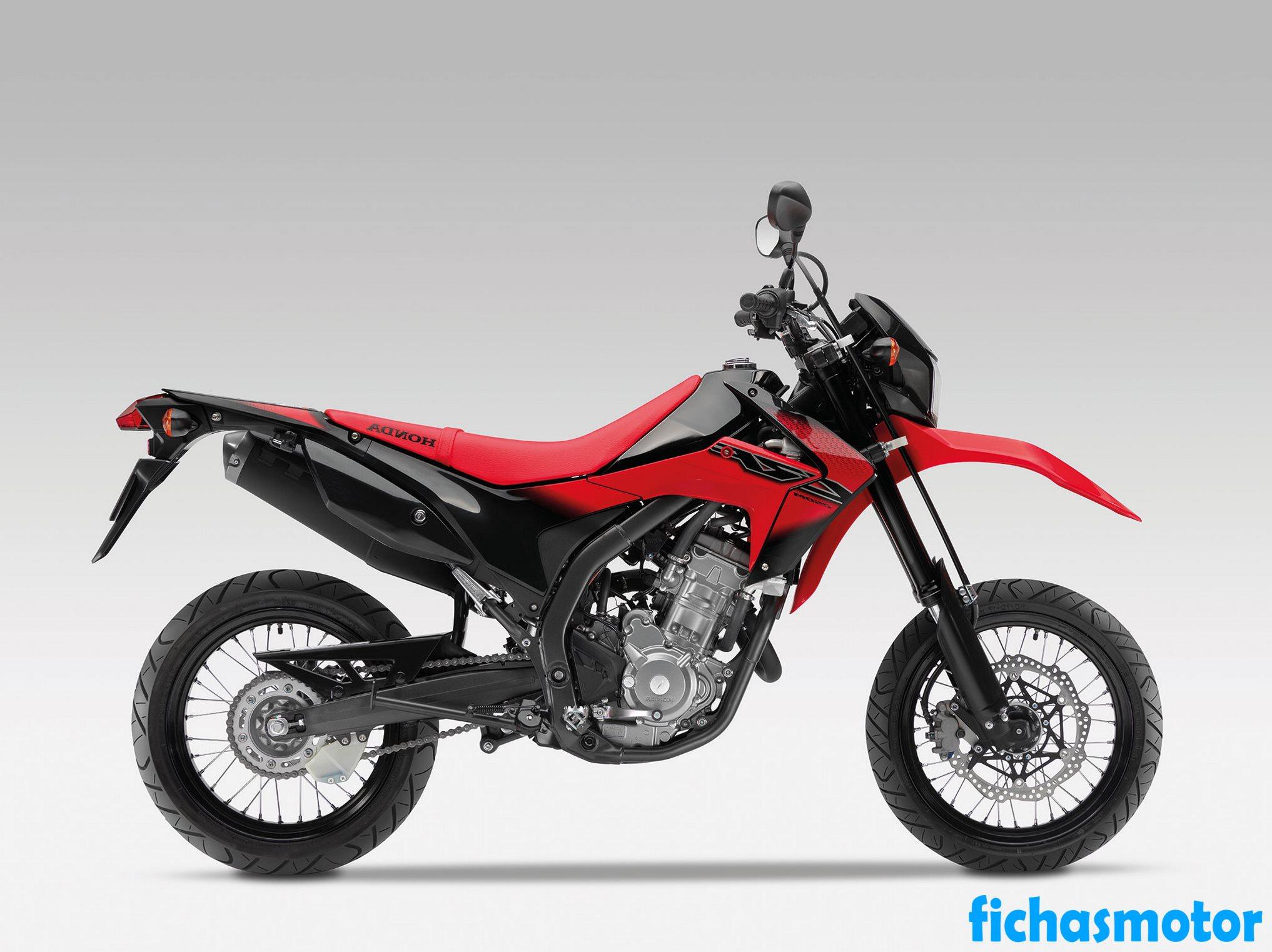 Ficha técnica Honda crf250m 2014