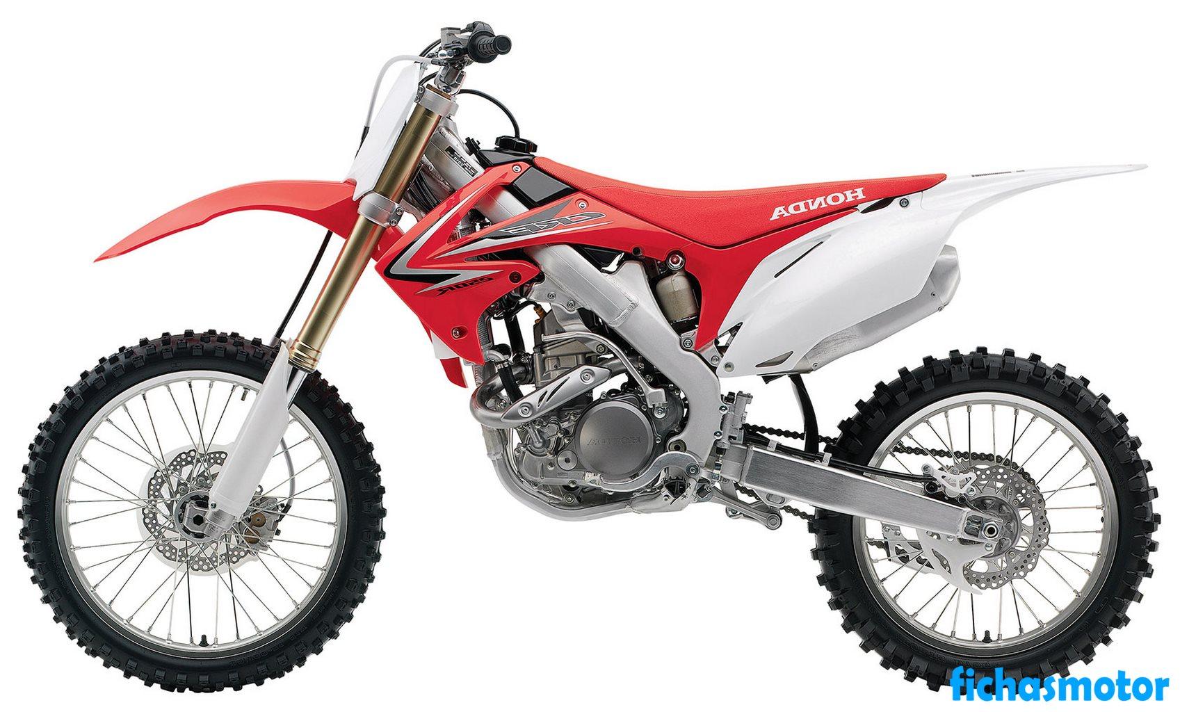 Ficha técnica Honda crf250r 2010