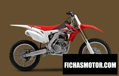 Ficha técnica Honda crf250r 2015