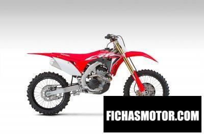Ficha técnica Honda CRF250R 2020
