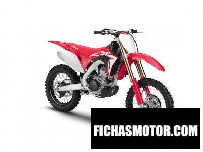 Ficha técnica Honda CRF250RX 2019