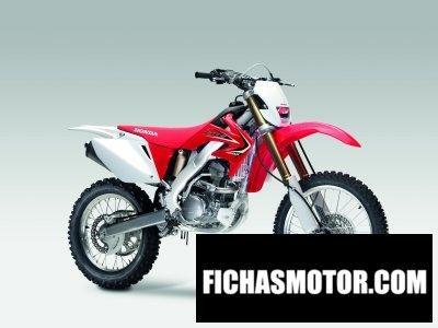 Ficha técnica Honda crf250x 2011